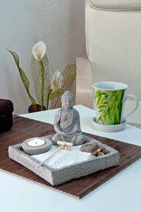 Buddha Tisch Zen-Garten